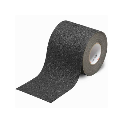 3M™ Safety-Walk™ Coarse Tapes & Treads 710, Black, 6 in x 30 ft, 1/Case