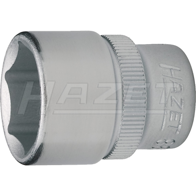 "Hazet 880-12 (6-Point) 10mm (3/8"") Hexagon 12-12 Traction Socket"