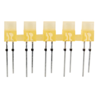 NTE Electronics NTE3155 LED 5-lamp Array Yellow Diffused