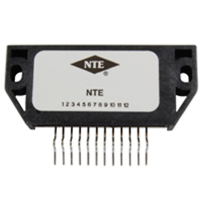 NTE Electronics NTE1881 HYBRID MODULE 3 OUTPUT VOLTAGE REGULATOR FOR VCR 12-LEAD