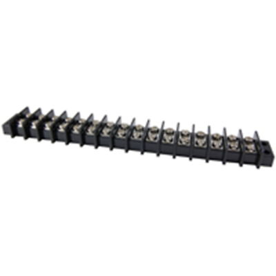 NTE Electronics 25-B600-16 Terminal Block Barrier Dual Row 16 Pole 11.00mm Pitch