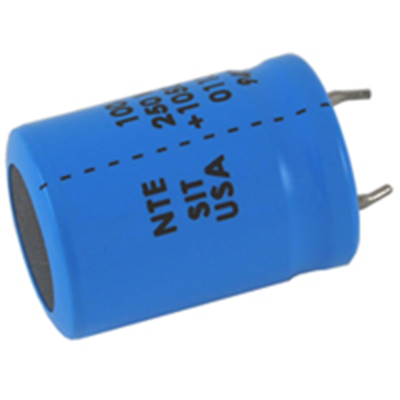 NTE Electronics SIT330M250 CAPACITOR HIGH TEMP SNAP IN ALUMINUM ELECTROLYTIC