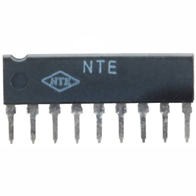 NTE Electronics NTE1210 INTEGRATED CIRCUIT PREAMP WITH ALC 9-LEAD SIP VCC=15V