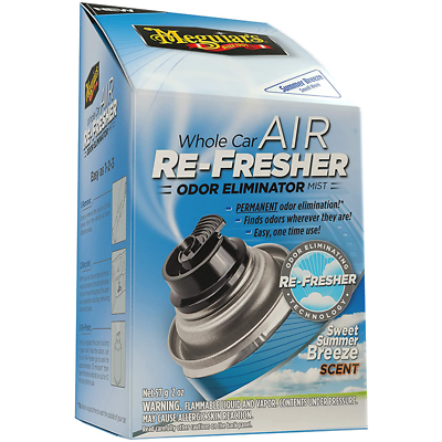 Meguiar's Whole Car Air Re-Fresher Odor Mist -Sweet Summer Breeze Scent, G16602