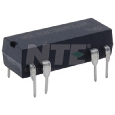 NTE Electronics R56-1D.5-6 RELAY-REED SPST-NO .5A 5VDC DUAL IN-LINE PKG