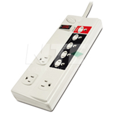 NTE Electronics EMF-8ES SURGE PROTECTOR 8 OUTLET ENERGY SAVING POWER CENTER