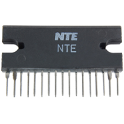 NTE Electronics NTE7041 IC DUAL AUDIO POWER AMP 22W BTL 17-LEAD SIP VCC=13.2V