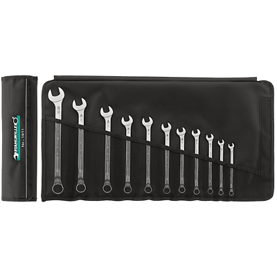Stahlwille 96401007 14/10KT Combination Spanner Set, Long