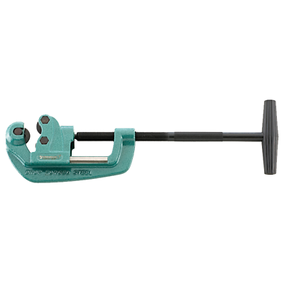 Stahlwille 60121001 150 EXPRESS Pipe Cutter, Wide Guide Rollers, 1/8-1-1/4""