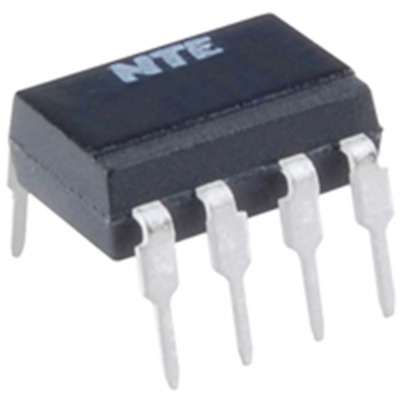 NTE Electronics NTE3223-2 Optocoupler Dual NPN Transistor Output 8 Lead DIP