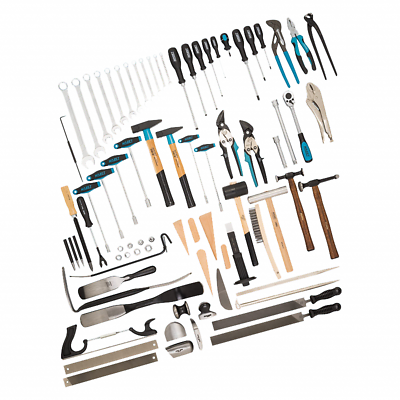 Hazet 0-1900/77 Tool Assortment, 77 pieces