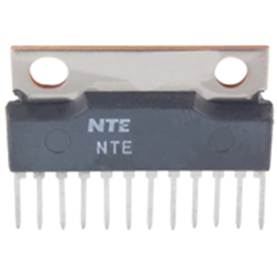 NTE Electronics NTE7040 IC - 20W AUDIO POWER AMP 12-LEAD SIP VCC = 30V TYPICAL