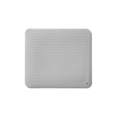 "3M™ Precise™ Mouse Pad Non-Skid Foam Back, 9"" x 8"", Bitmap, MP114-BSD1"