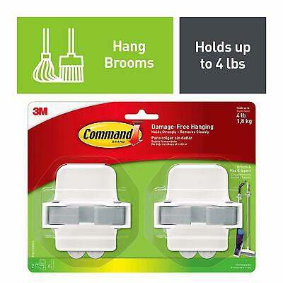 Command Broom Gripper 2 pack 17007-HW2ES