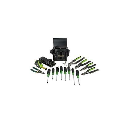 Greenlee 0159-24 Electricians Tool 16 Piece Kit, Metric