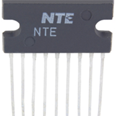 NTE Electronics NTE7147 IC CURRENT DRIVEN VERT DEFLECTION BOOSTER 9-LEAD SIP