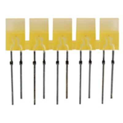 NTE Electronics NTE3152 LED 5-lamp Array Yellow Diffused