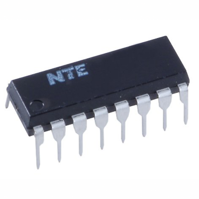NTE Electronics NTE2085 INTEGRATED CIRCUIT 4-STAGE DARLINGTON TRANSISTOR ARRAY