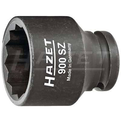 "Hazet 900SZ-16 (12-Point) Hollow 12.5mm (1/2"") 16 Impact Socket"