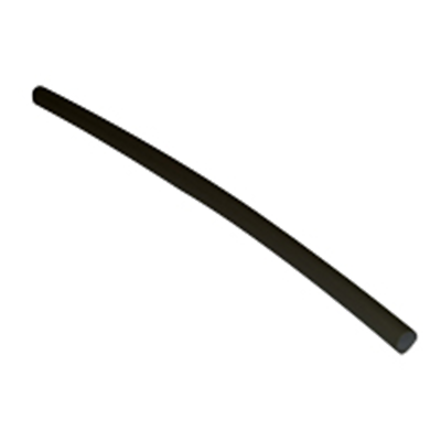 "NTE Electronics 47-23248-BK Heat Shrink 1/4"" Dia W/adhesive Black 48"" Length 3:1"