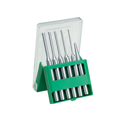 Stahlwille 96700711 105-8/6K Pin Punch-Center Punch Set