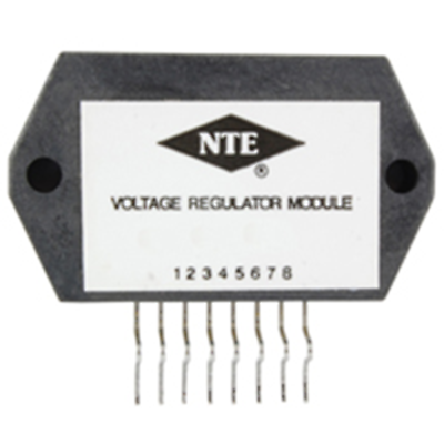 NTE Electronics NTE7024 MODULE - 2 OUTPUT VOLTAGE REGULATOR FOR VCR 8 LEAD SIP