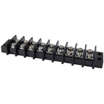 NTE Electronics 25-B600-09 Terminal Block Barrier Dual Row 9 Pole 11.00mm Pitch