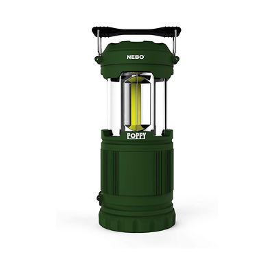 Nebo 6597 Poppy Green Pop Up Lantern