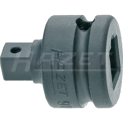 "Hazet 9007S Hollow 12.5mm (1/2"") Solid 10mm (3/8"") Reducer"