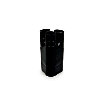 3M Heat Shrinkable Cable Breakout Boot HDBB-335-1-250: black, 3-way outlet