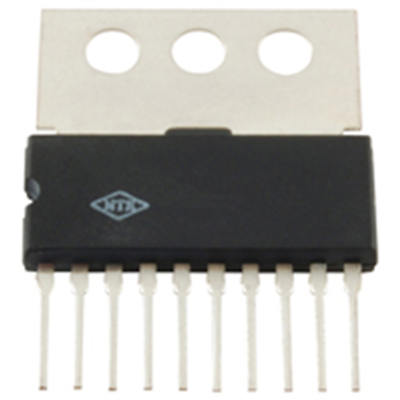 NTE Electronics NTE1081A INTEGRATED CIRCUIT PO=4.8W 10-LEAD SIP AUDIO POWER AMP