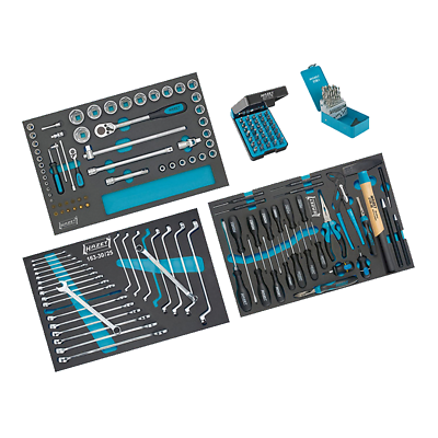 Hazet 0-178/169 Tool Assortment, 169 pieces