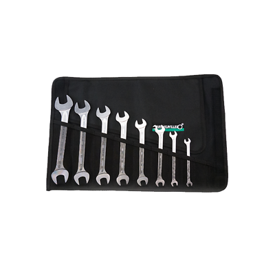 Stahlwille 96400305 10/8 Double Open Ended Wrench Set - Metric 8 pcs
