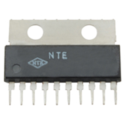 NTE Electronics NTE1685 INTEGRATED CIRCUIT DUAL 3.5W/CHANNEL AUDIO POWER OUTPUT