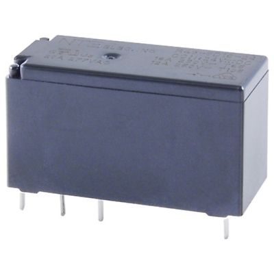NTE Electronics R49-1D16-24 RELAY SPST-NO 16A 24VDC PC MOUNTABLE LOW PROFILE