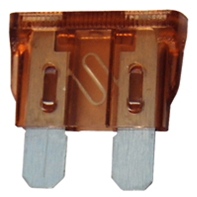 NTE Electronics 74-AF7.5A-C FUSE-AUTOMOTIVE ATC EQUIVALENT 5/PKG CLAMSHELL