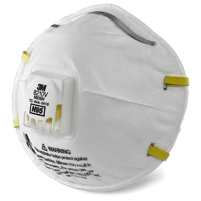 3M™ Particulate Respirator 8210V, N95