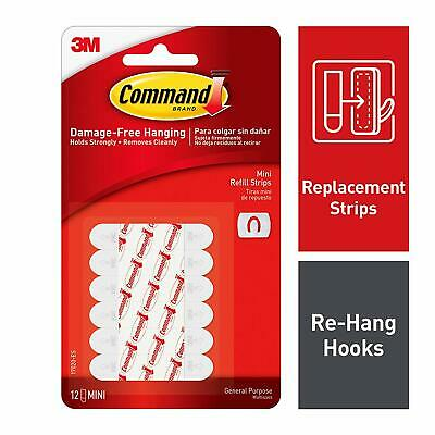 Command Decorating Clip Refill Strips 17020-ES