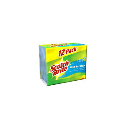 Scotch-Brite Large Non-Scratch Scrub Sponge 555-12