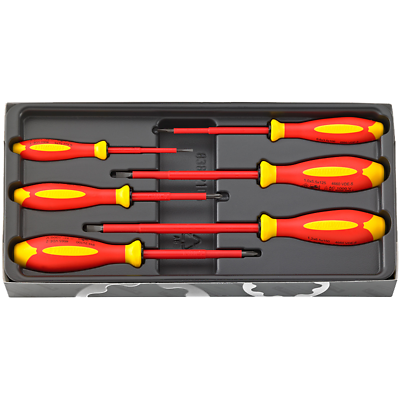 Stahlwille 96469515 4695 VDE DRALL+ Slotted and Phillips Screwdriver Set
