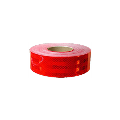 "3M™ Diamond Grade™ Conspicuity Markings 983-72 Red, DOT, 2"" x 50 yd, kiss-cut 9"""