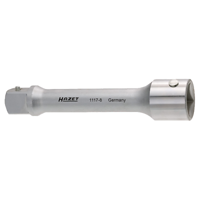 "Hazet 1117-8 Extension, 1.0"" drive, 200mm"