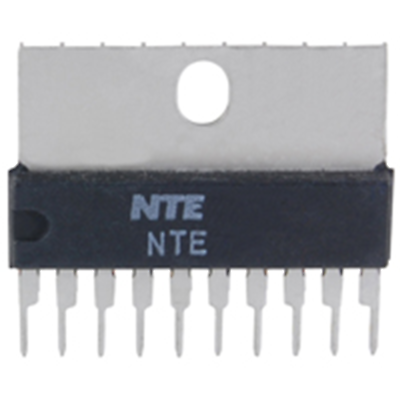 NTE Electronics NTE7188 IC TV/CRT VERT OUTPUT W/BUS CONTROL SUPPORT 7-LEAD SIP