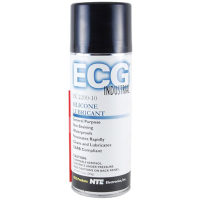 NTE Electronics RX2200-10 SILICONE LUBRICANT 10-OZ PENETRATES RAPIDLY