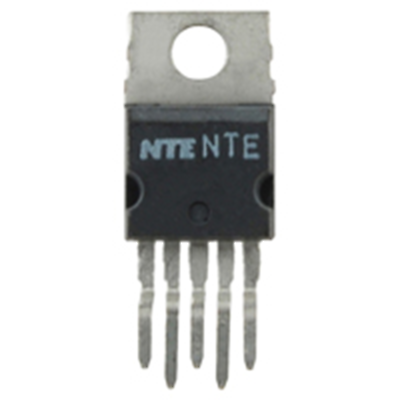 NTE Electronics NTE7169 IC 32W AUDIO POWER AMP 5-LEAD SHORT CIRCUIT PROTECTION