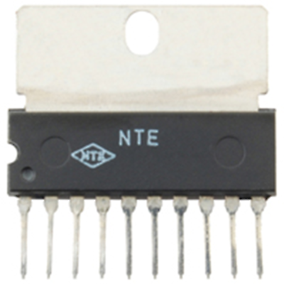 NTE Electronics NTE1766 INTEGRATED CIRCUIT REVERSABLE MOTOR DRIVER VCC=12Y TYP 1
