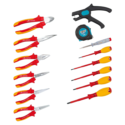 Hazet 0-20/14 VDE Tool Assortment, 14 pieces