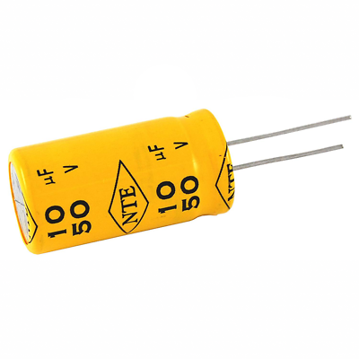 NTE Electronics HD1.0M25 CAPACITOR HORIZONTAL DEFLECTION HIGH FREQUENCY 1UF 25V