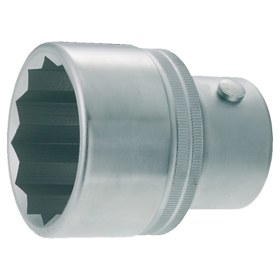 "Hazet 1100Z-80 12-Point Socket, 1.0"" drive, 80mm x 94mm"