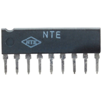 NTE Electronics NTE1612 INTEGRATED CIRCUIT 0.7 WATT POWER AMP FOR BATTERY APPLIC